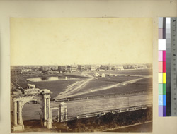 The Maidan, Calcutta, from Government House